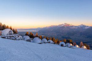 Thiên đường nghỉ dưỡng Whitepod Hotel, Thụy Sĩ