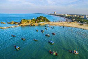 """Những bãi biển """"thiên đường"""" ở Nghệ An"""