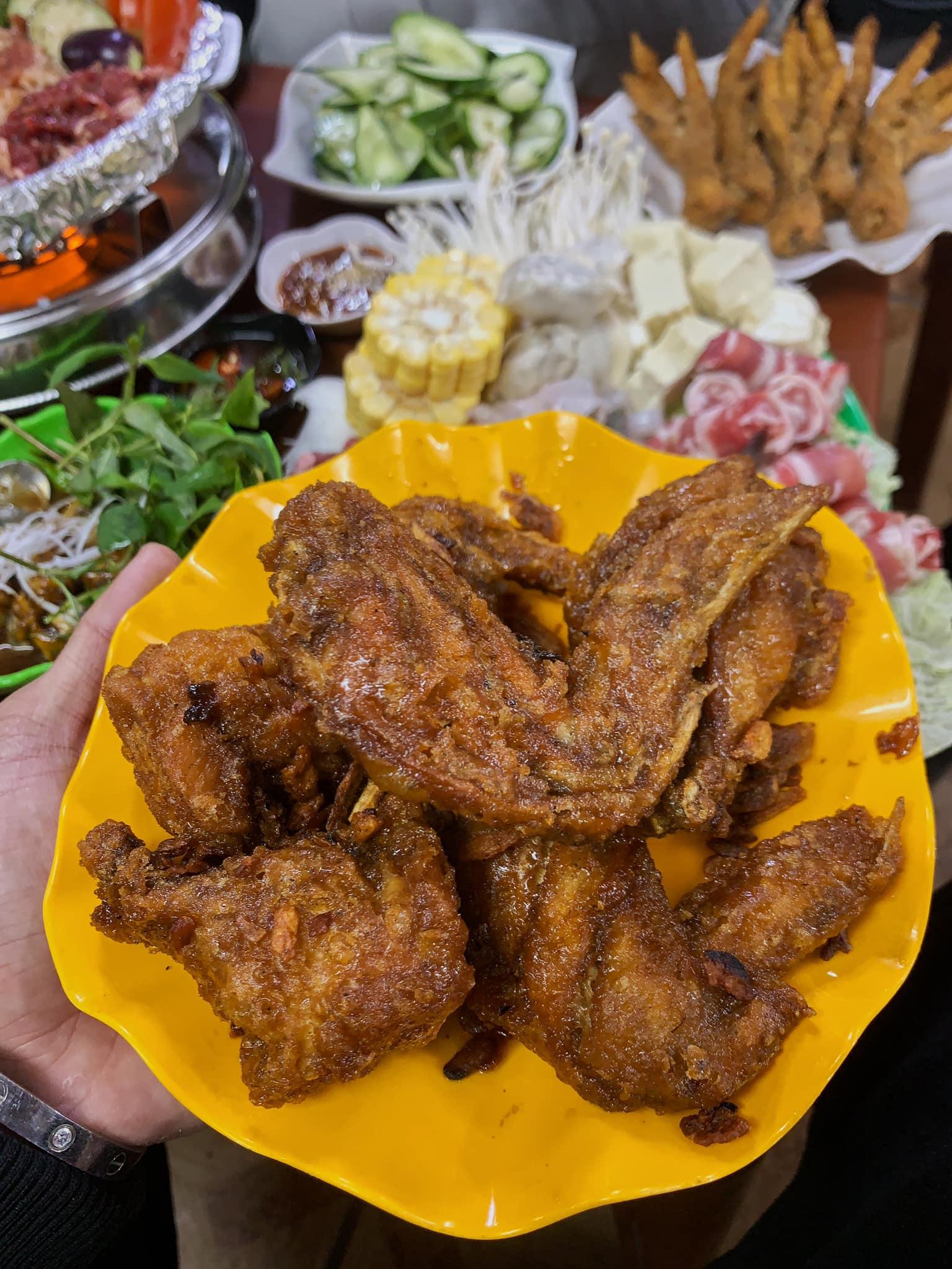 Chân gà chiên mắm Hậu Béo – 69 Yên Phụ