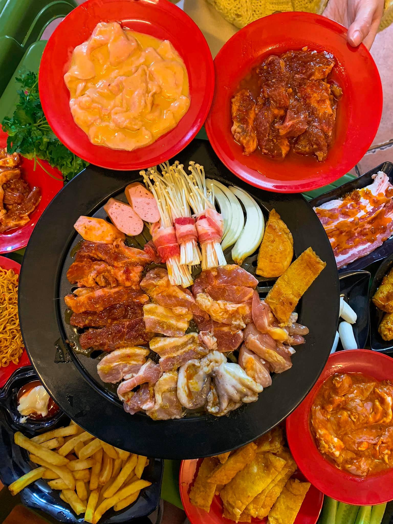 buffet nuong 149k pho duc chinh