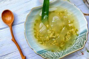 Cách nấu chè đậu xanh nha đam đường phèn ngon nhất