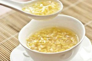 Cách nấu chè đậu xanh bột báng nước cốt dừa ngon lạ miệng