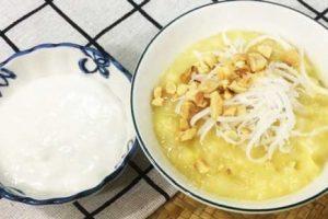 Cách nấu chè đậu xanh đánh nước cốt dừa ngon bổ dưỡng