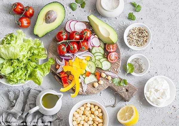 Thực đơn 18: Bữa ăn với 450 calo