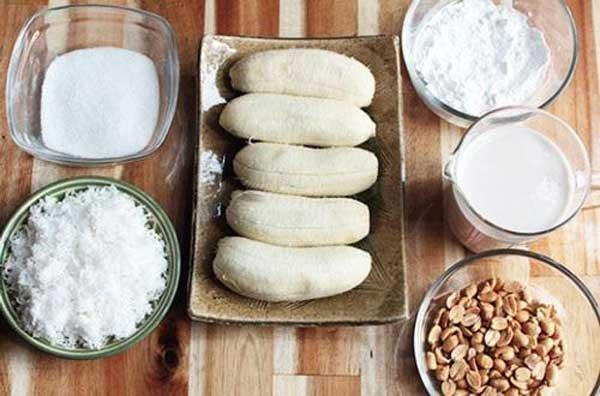 cách làm kem chuối xay nước cốt dừa