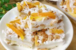 Cách làm kem xoài chuối thơm ngon mát lạnh