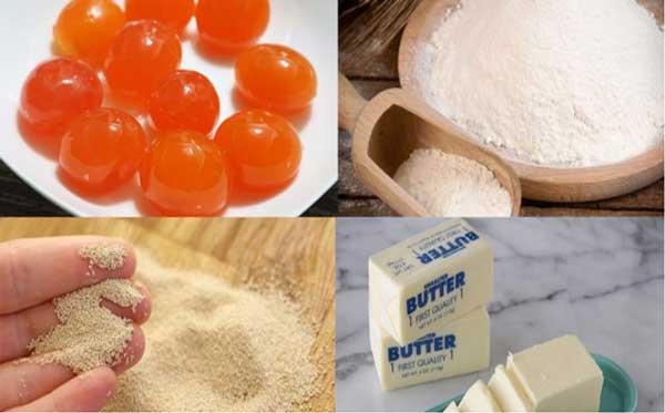 Cách làm bánh bao kim sa