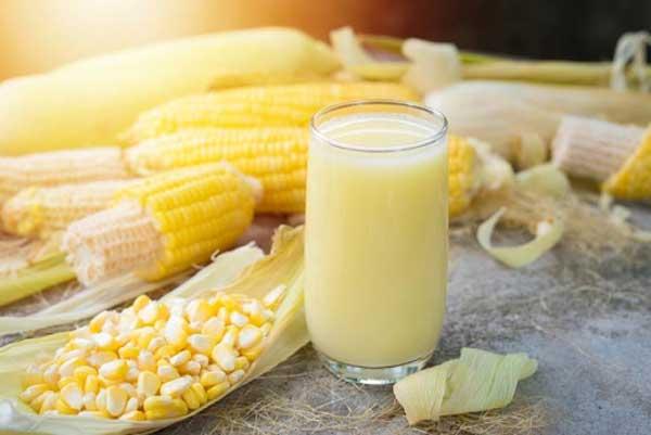 Cách nấu sữa bắp đơn giản