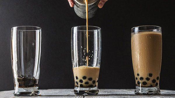 Cách nấu trà sữa socola kết hợp trân châu